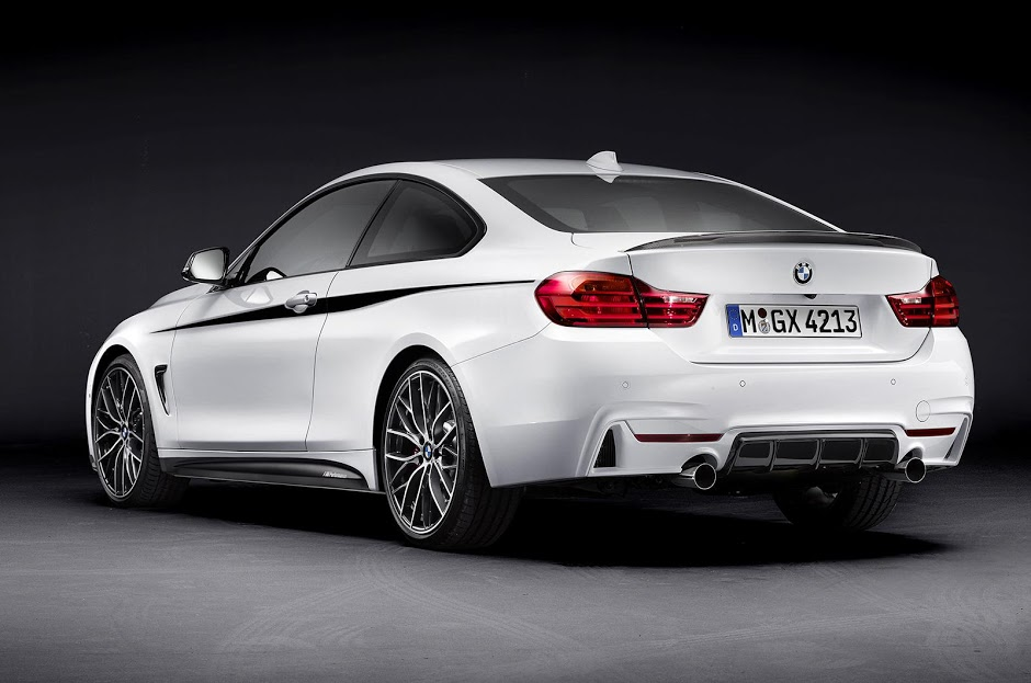 Bmw Reveal M Performance Accessories For The All New 4 Series