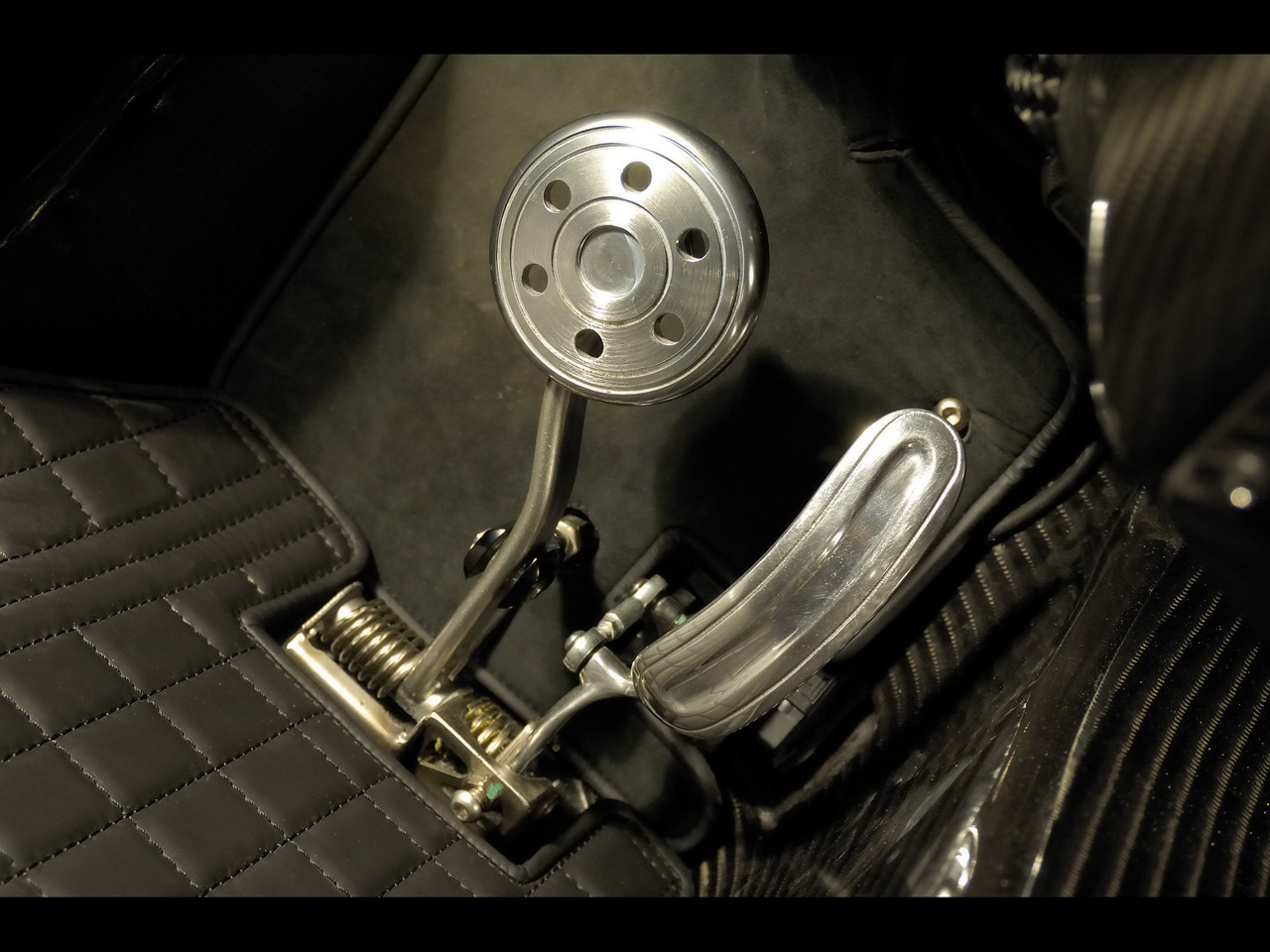 Motoring Under A Microscope Pedal To The Bare Metal