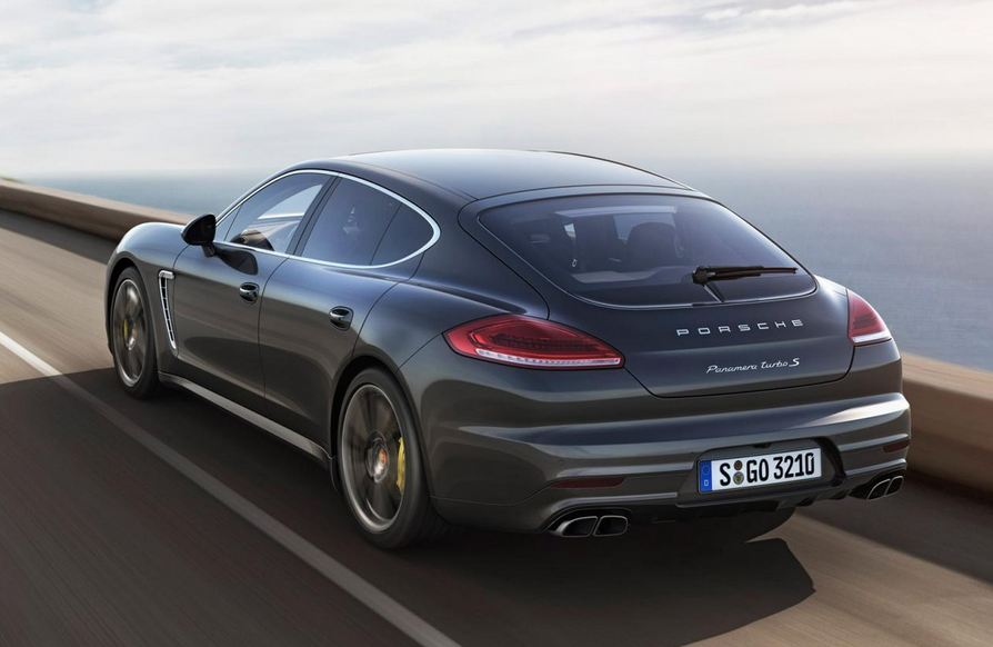 porsche officially reveals the 2014 panamera turbo s. Black Bedroom Furniture Sets. Home Design Ideas