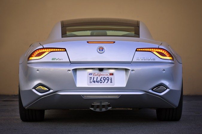 Solar panels were a feature of earlier Fisker cars