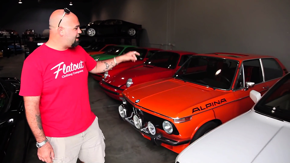 a video tour of paul walker 39 s car collection. Black Bedroom Furniture Sets. Home Design Ideas