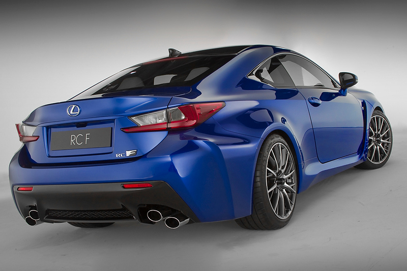 Lexus Rc F 0 60 >> Lexus RC F: 450bhp V8 Coupe Ready to Roar in Detroit