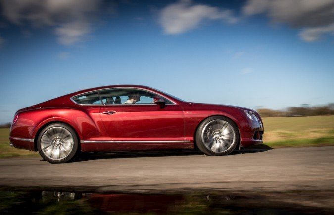 Bentley Continental GT Speed Outdoors (1)