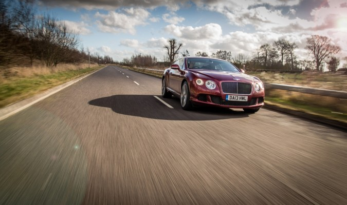 Bentley Continental GT Speed Outdoors (104)