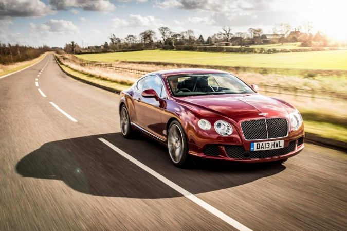 Bentley Continental GT Speed Outdoors (106)