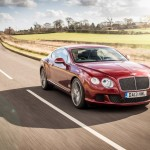 Bentley Continental GT Speed Outdoors 14