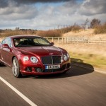 Bentley Continental GT Speed Outdoors 20
