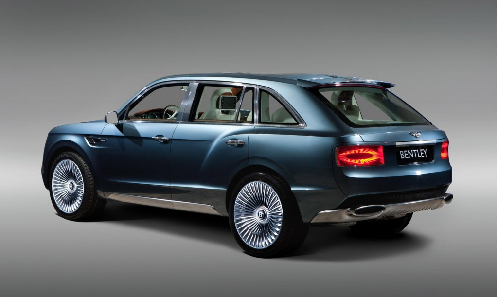Luxury Suvs Vehicle: Bentley Tease New 'Luxury SUV