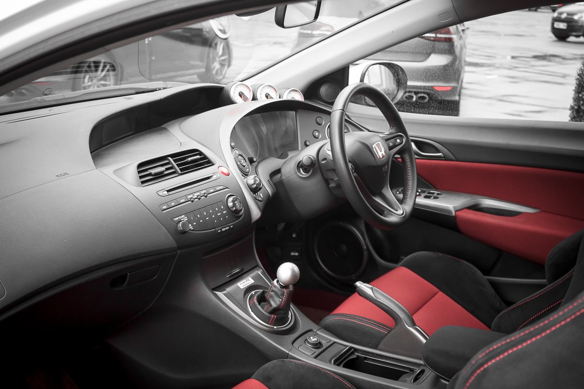 2014 civic type r interior the image. Black Bedroom Furniture Sets. Home Design Ideas