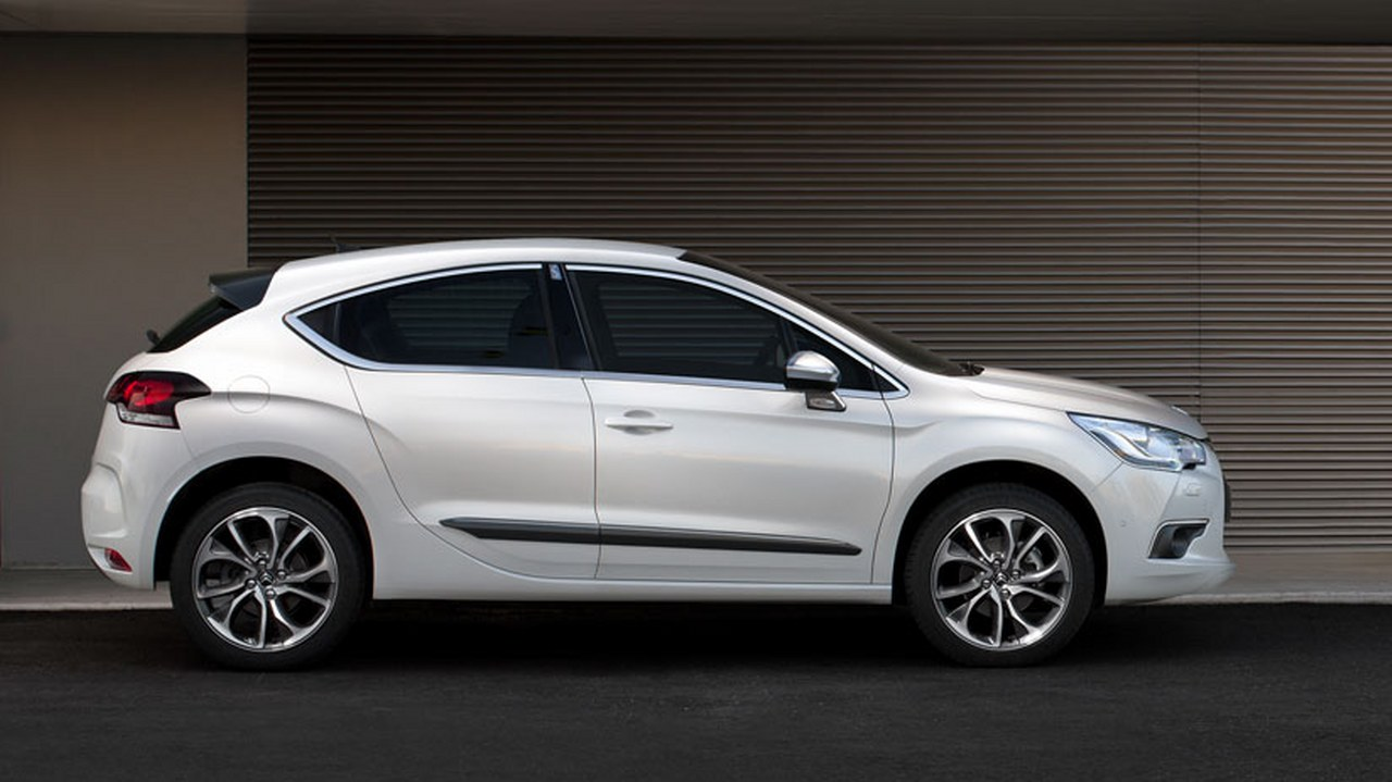 Before the test drive citroen ds4 dsport hdi160