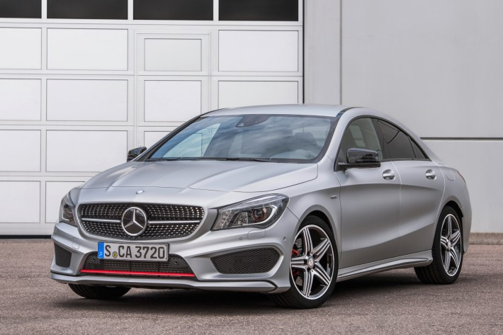 MB CLA 250 Sport front1