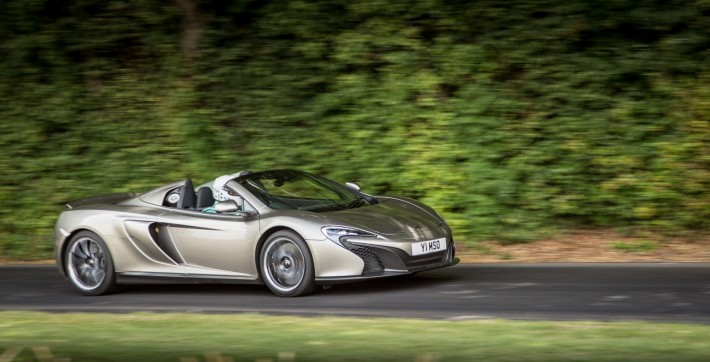 Mclaren Mso 650s Spyder At Goodwood