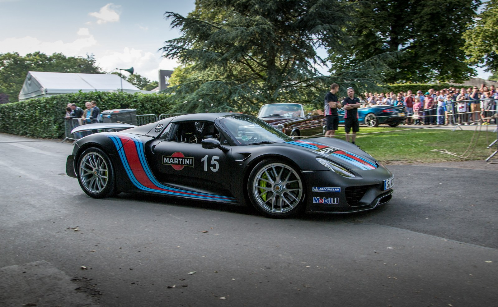 goodwood gallery the big four porsche 918 spyder. Black Bedroom Furniture Sets. Home Design Ideas