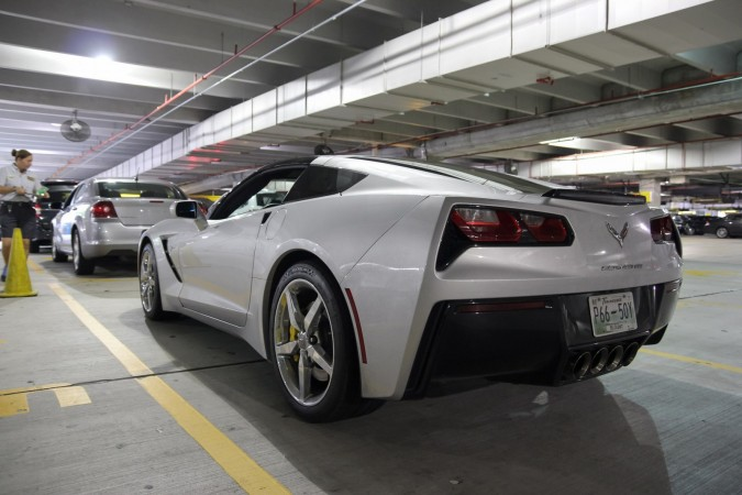Hertz Chevrolet Corvette Stingray