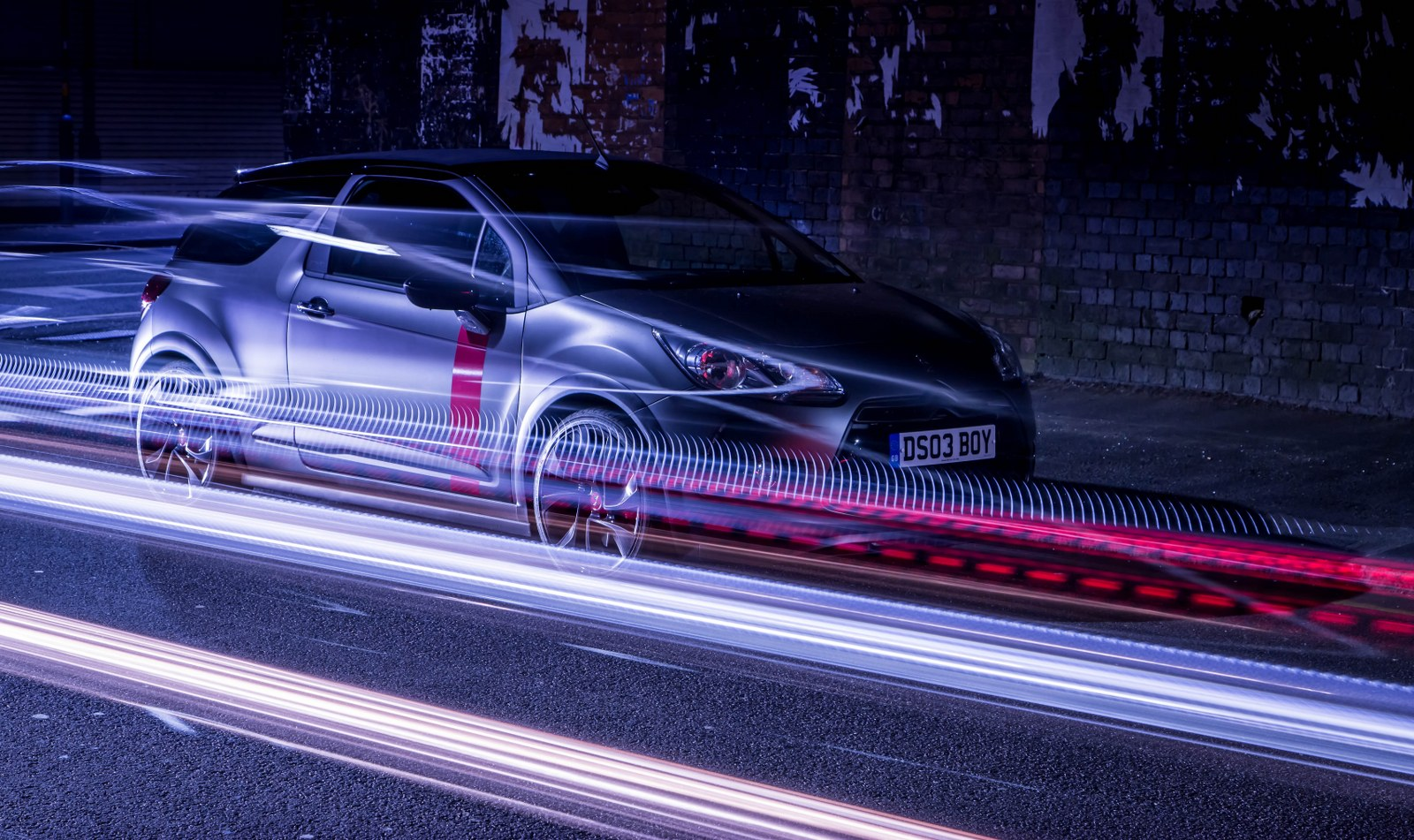 Our Automotive Light Painting Long Exposure Work