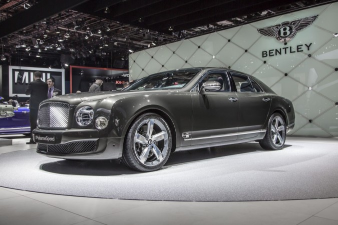 2015 Bentley Mulsanne Speed 8