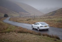 Tesla Model S A708 Best Driving Road