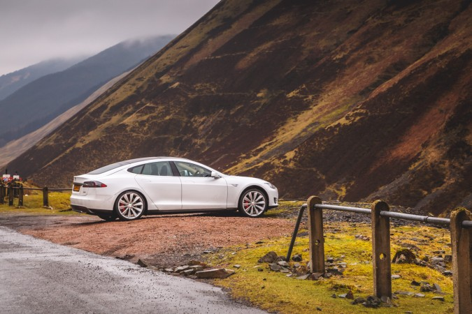 Tesla Model S P85 Drink Drive Limit Scotland