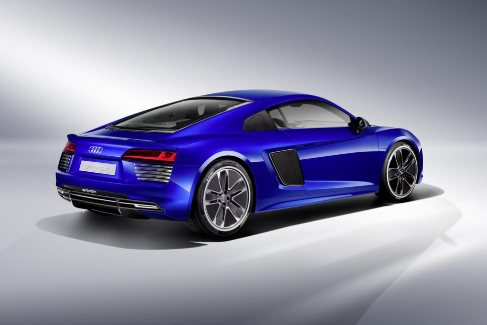 Audi's R8 E-Tron is a Concept to Watch