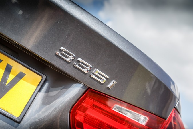 BMW 335i M Sport Rear Boot Badge
