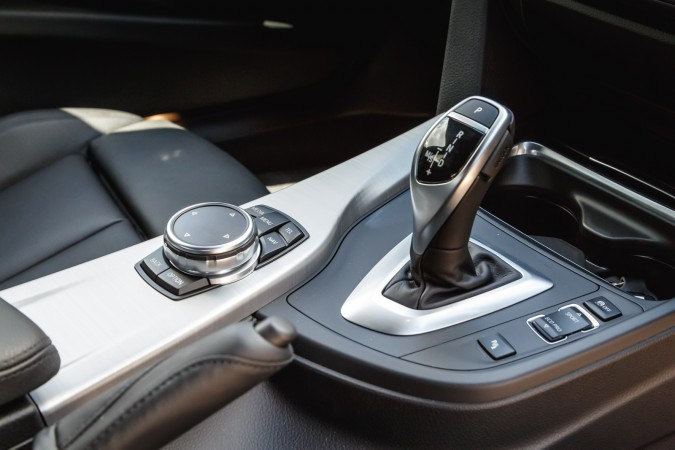 Gearstick on BMW 335i M Sport