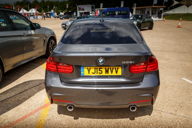 BMW 335i M Sport Rear Twin Exhausts