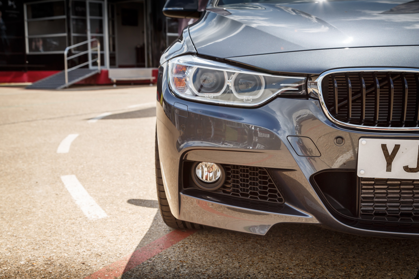 Bmw 335i M Sport Front Per And Grille