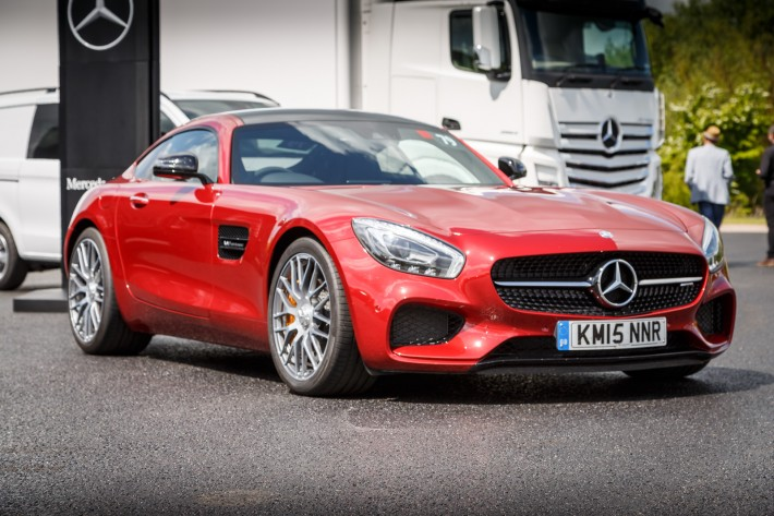 Mercedes Benz AMG GT Red 13