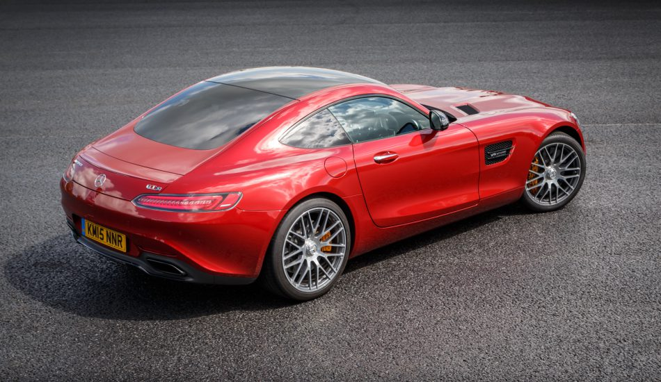 Mercedes Benz AMG GT Red 2