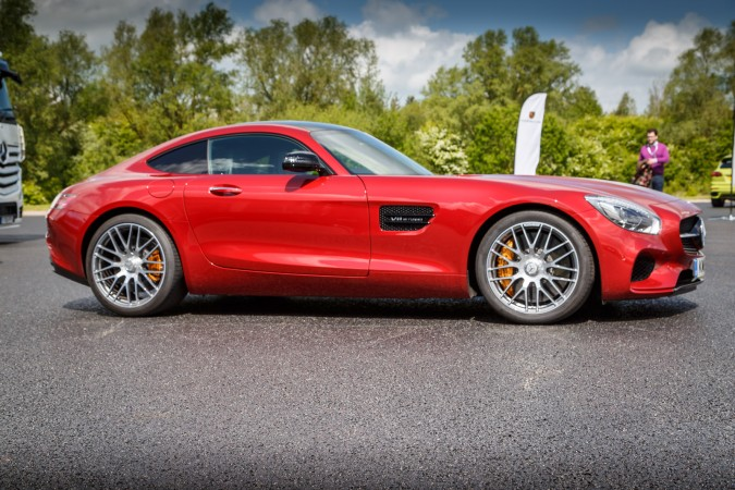 Mercedes-Benz AMG GT Red 3