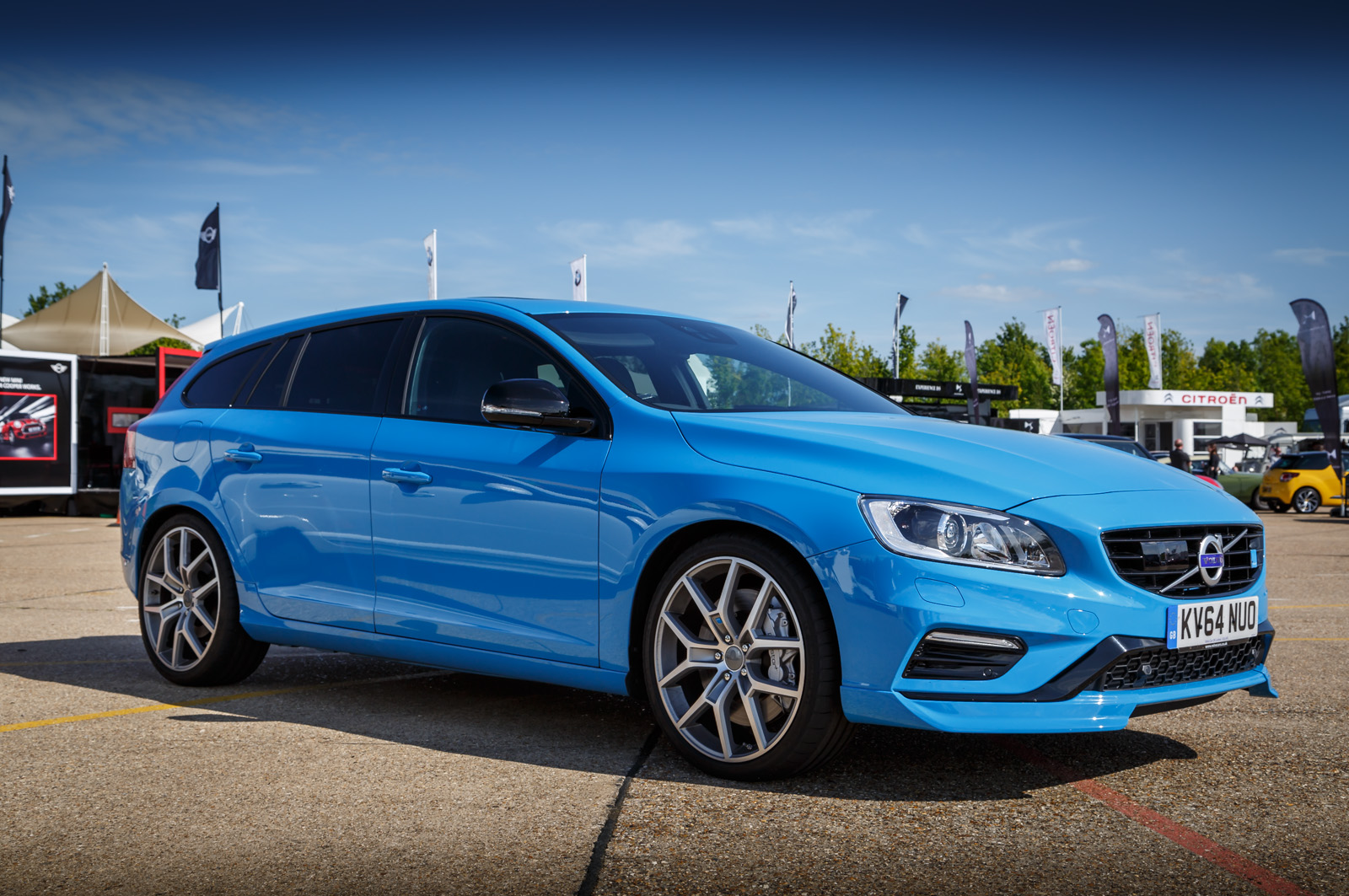 Advertise On My Car >> Volvo V60 Polestar Gallery