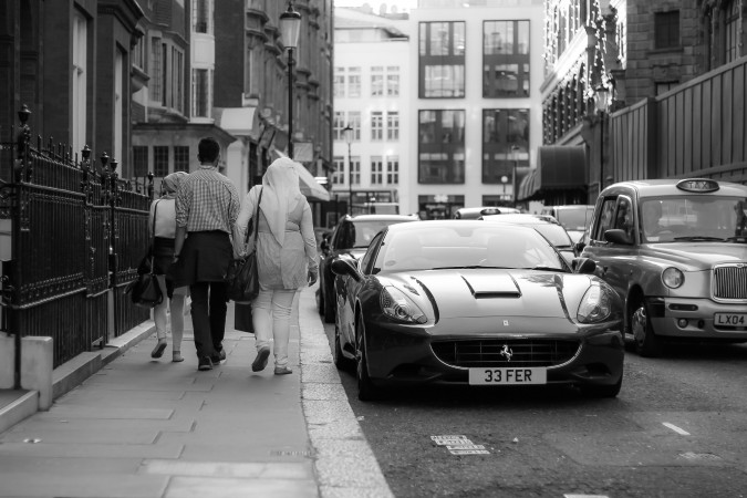 Knightsbridge Car Spotting London 17