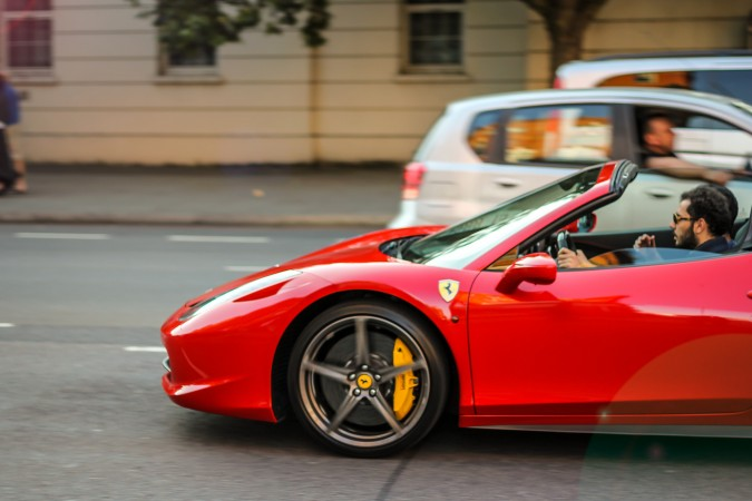 Knightsbridge Car Spotting London 4 Ferrari 458