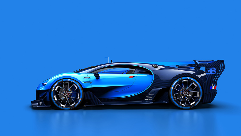 bugatti previews the next veyron with 39 vision gran turismo 39 concept. Black Bedroom Furniture Sets. Home Design Ideas