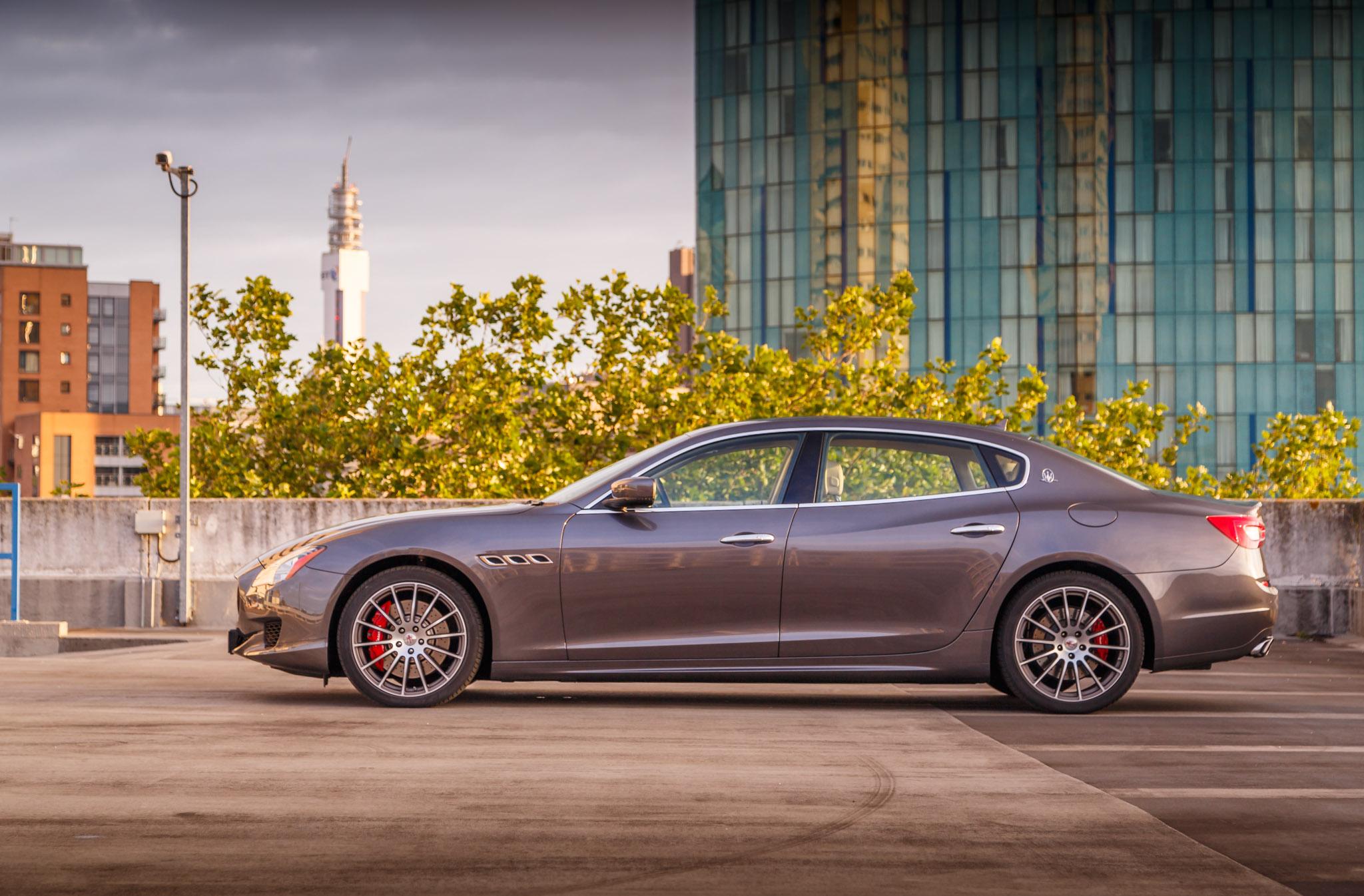 Maserati Quattroporte GTS 2015 Gallery