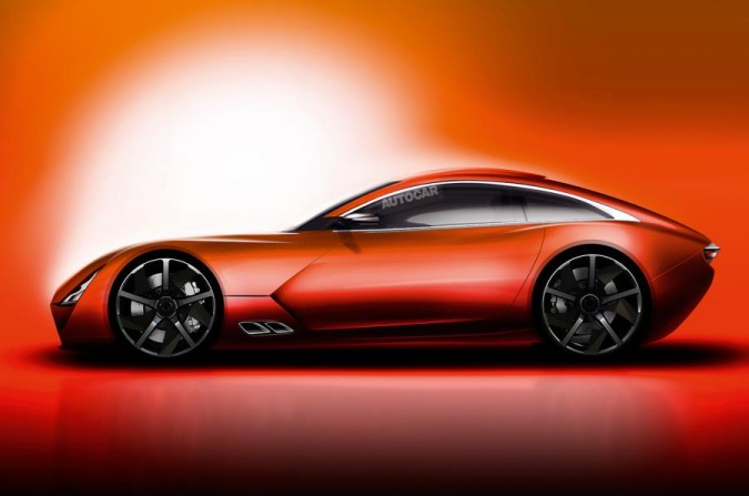 TVR Concept side