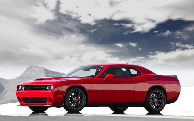 Challenger Hellcat Red