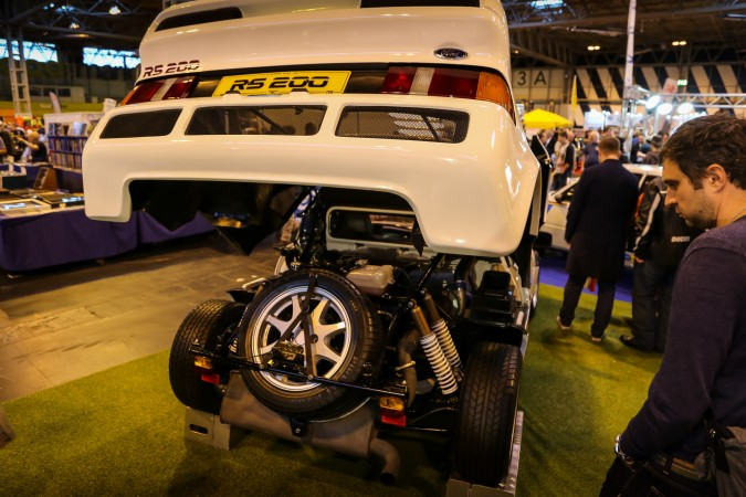 Lancaster Insurance Classic Motor Show 2015 RS200 3