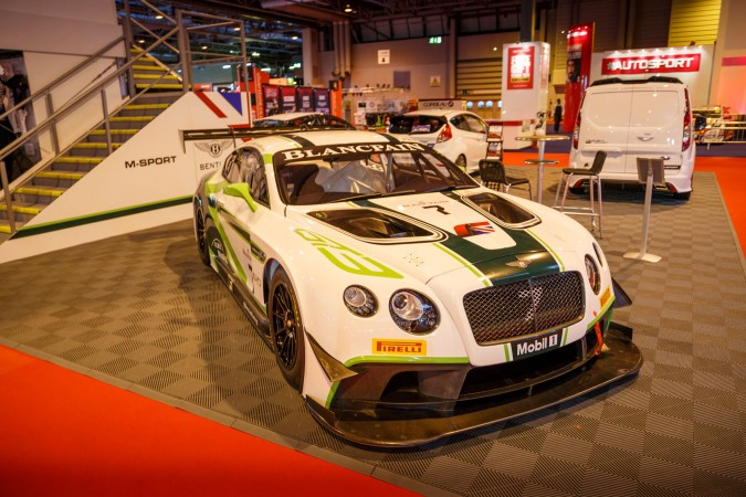 Autosport Internation 2016 RJ Bentley