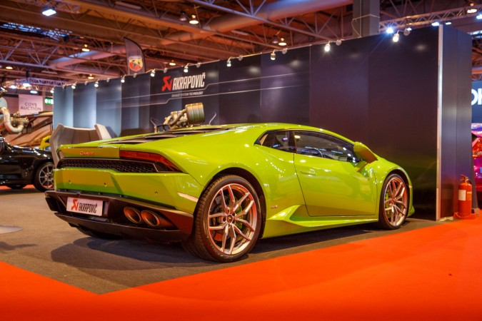 Autosport Internation 2016 RJ Lamborghini