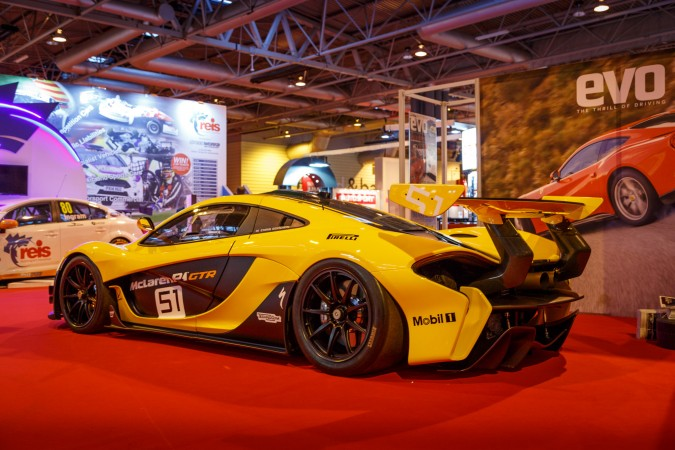 Autosport Internation 2016 RJ McLaren P1 GTR 1
