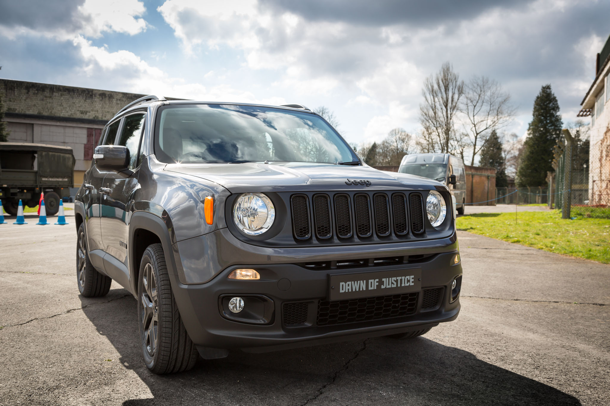 Jeep Renegade Dawn Of Justice First Driving Impressions