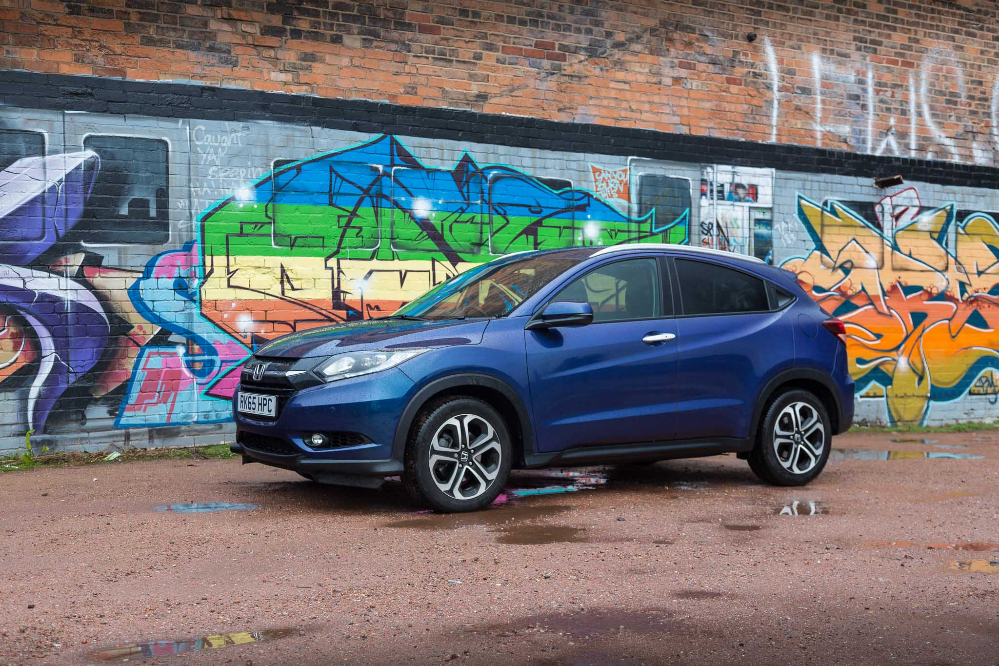 The Honda HR V Is A Super Small SUV That Has Lots Of Practicalities And Lot Going For It