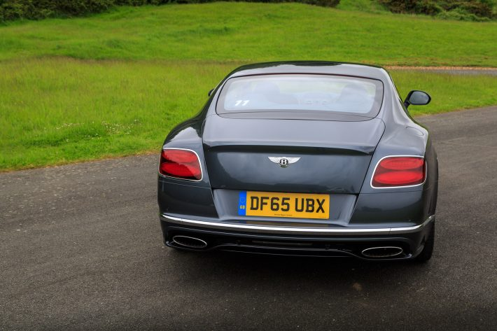 Driving the Bentley Continental GT Speed Coupe