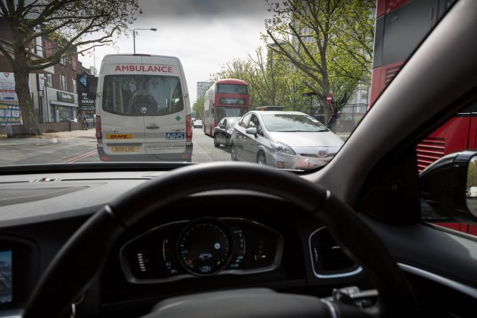Driving in Central London 1