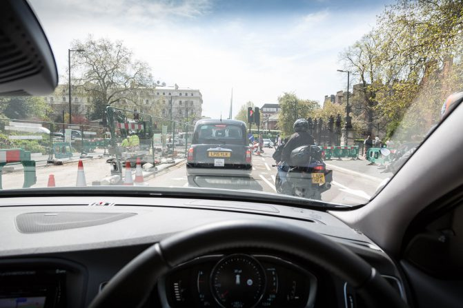 Driving in Central London 5