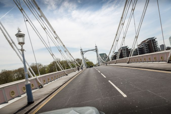 Driving in Central London 8