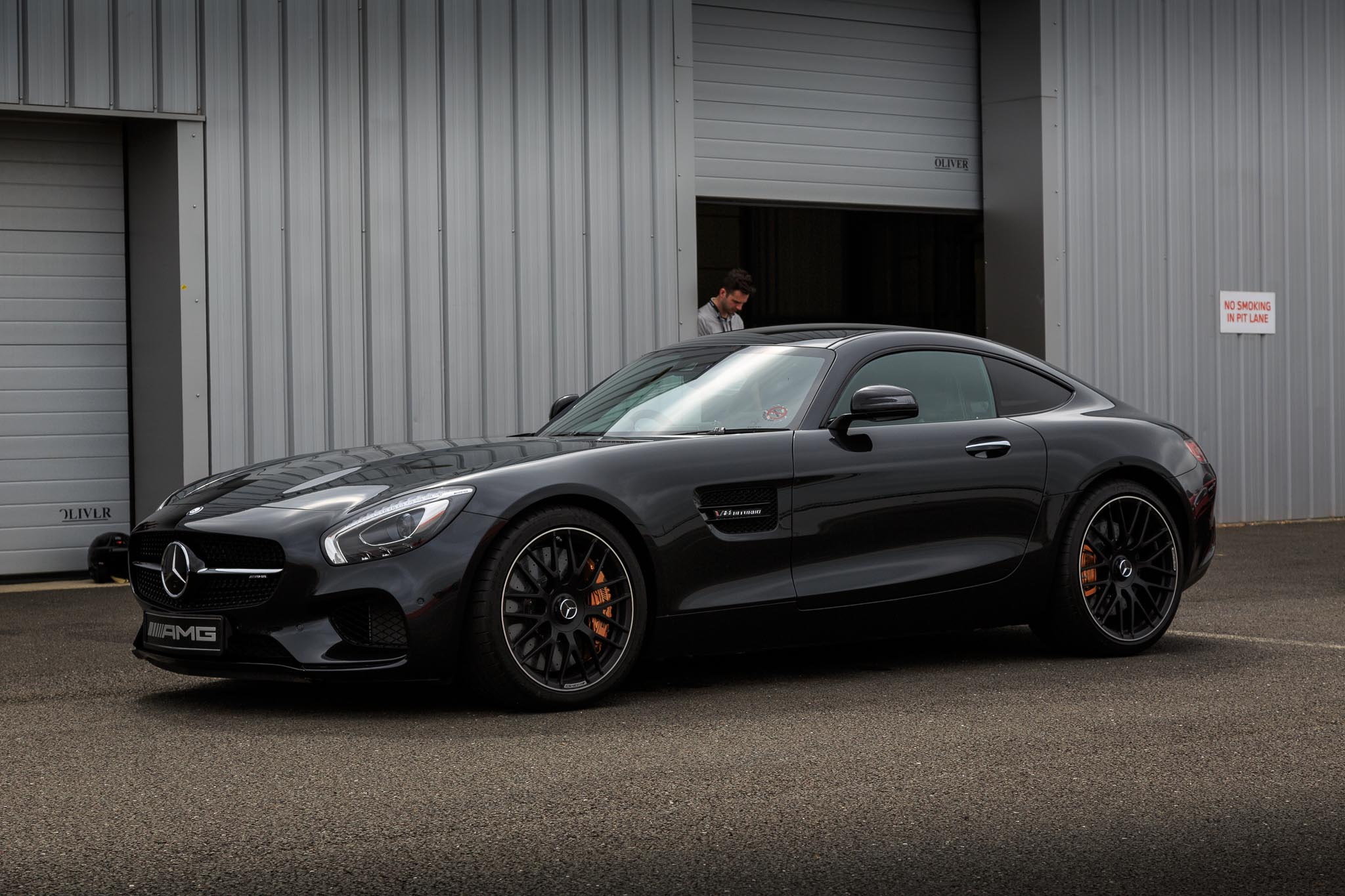 Testing the MercedesAMG GT S On Track At Silverstone