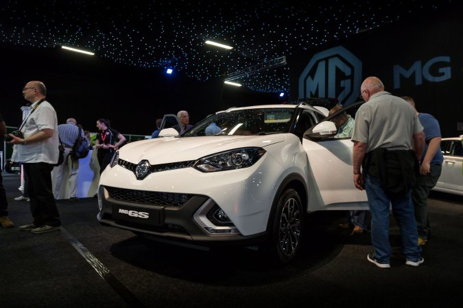 The London Motor Show 2016-101MG GS