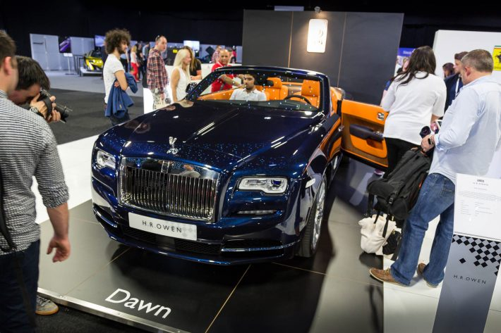 The London Motor Show 2016 111 Rolls Rouce Dawn